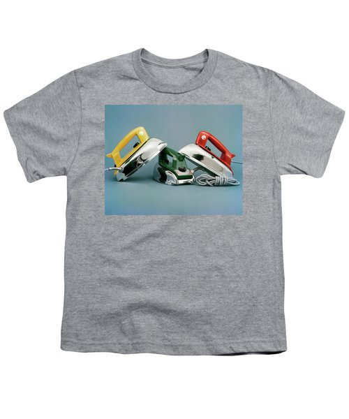 Three Irons By Casco Products Youth T-Shirt