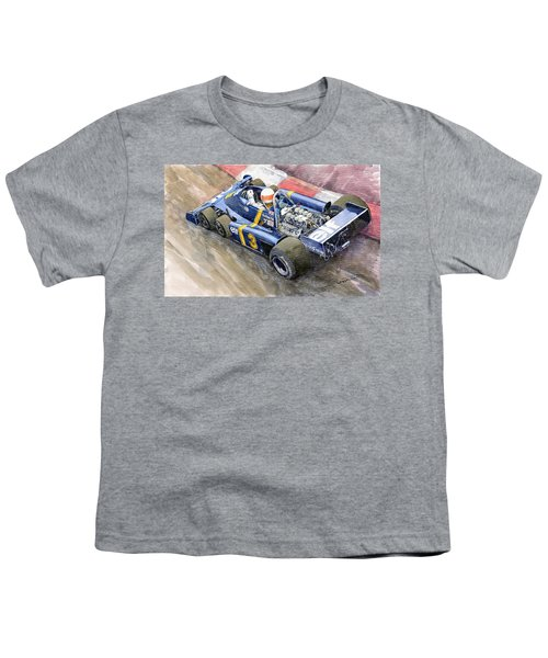 Tyrrell Ford Elf P34 F1 1976 Monaco Gp Jody Scheckter Youth T-Shirt