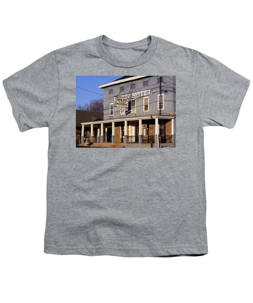 Union Hotel Youth T-Shirt by Skip Willits