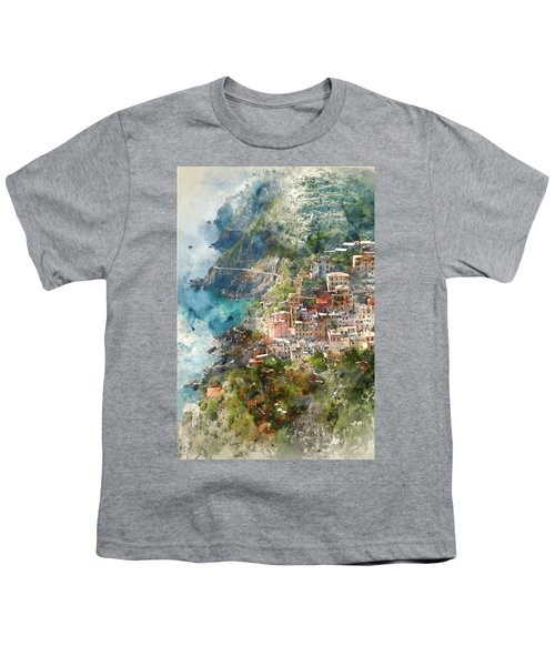 Cinque Terre In Italy Youth T-Shirt
