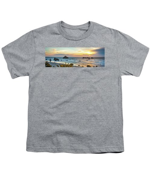 Face Rock At Sunset Youth T-Shirt