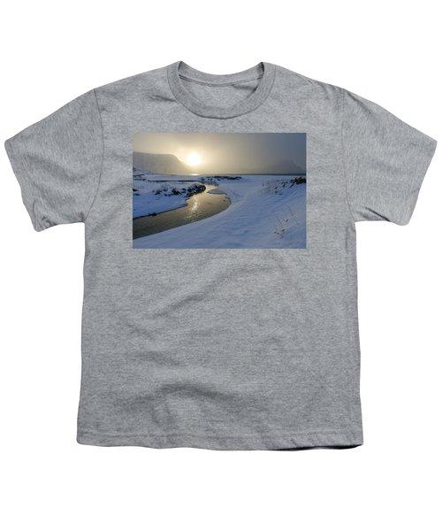 Haukland Beach, Lofoten Youth T-Shirt