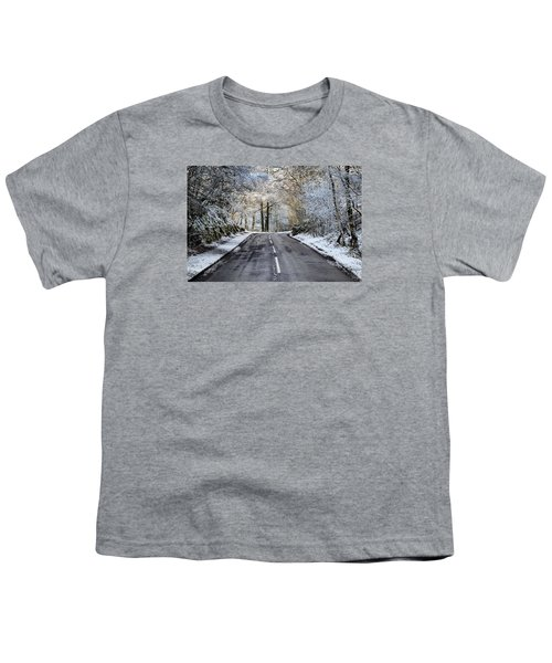 Trossachs Scenery In Scotland Youth T-Shirt