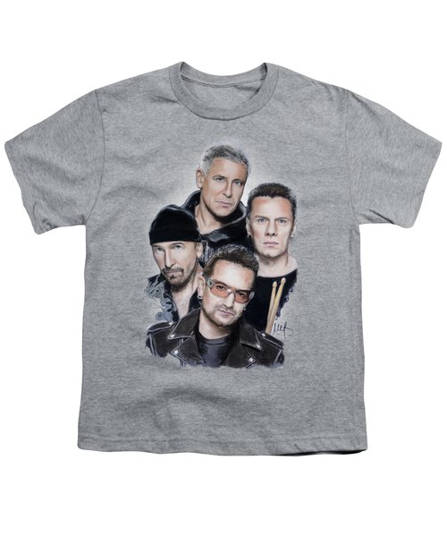 U2 Youth T-Shirt by Melanie D