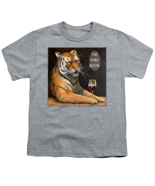 Wine Queen... Youth T-Shirt