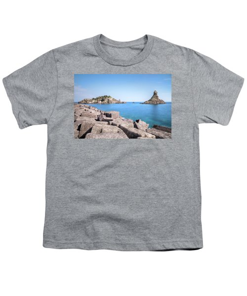 Aci Trezza - Sicily Youth T-Shirt by Joana Kruse