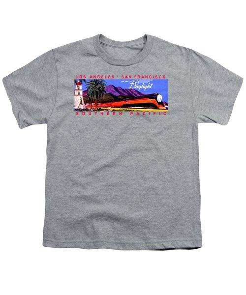 1922 Daylight Railroad Train Youth T-Shirt