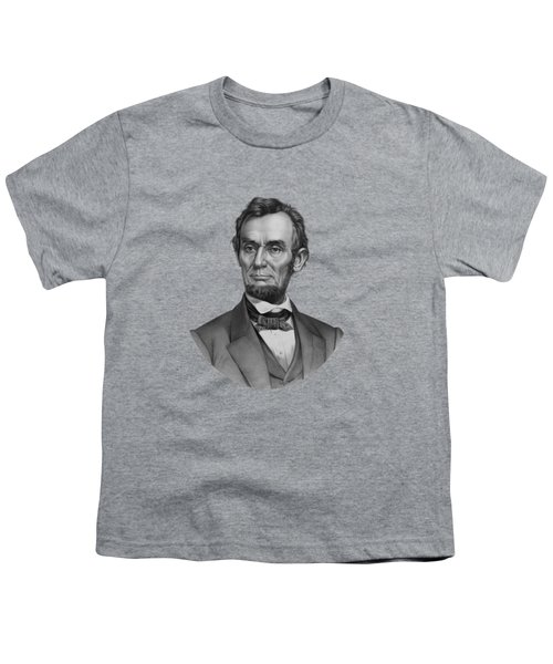 President Lincoln Youth T-Shirt by War Is Hell Store