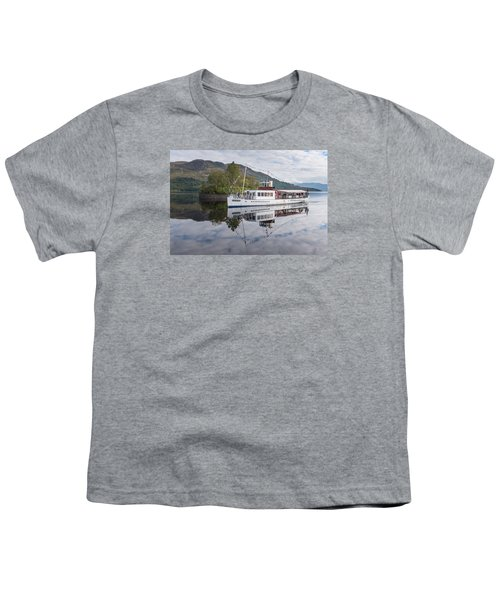 Steamship Sir Walter Scott On Loch Katrine Youth T-Shirt