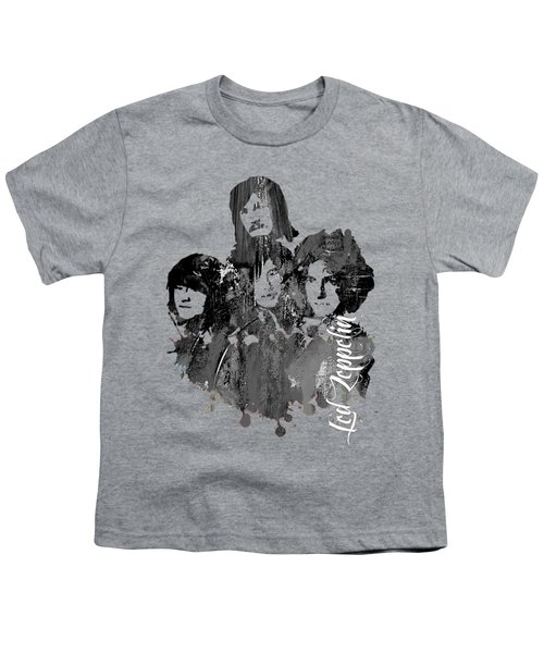 Led Zeppelin Collection Youth T-Shirt by Marvin Blaine