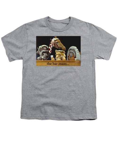 Bar Exam... Youth T-Shirt by Will Bullas