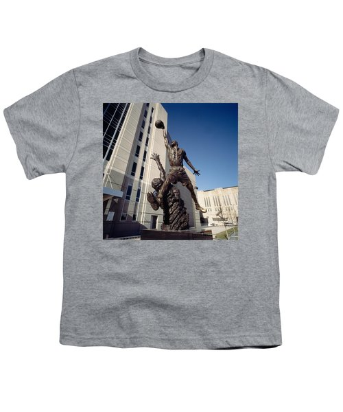Low Angle View Of A Statue In Front Youth T-Shirt