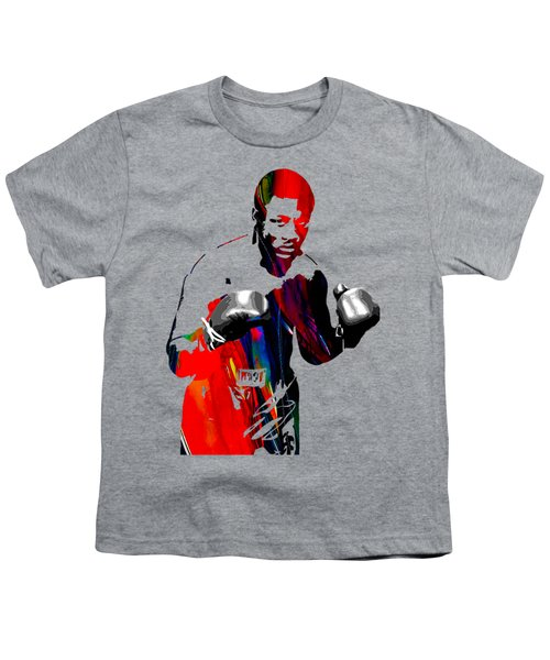 Smokin Joe Frazier Collection Youth T-Shirt by Marvin Blaine