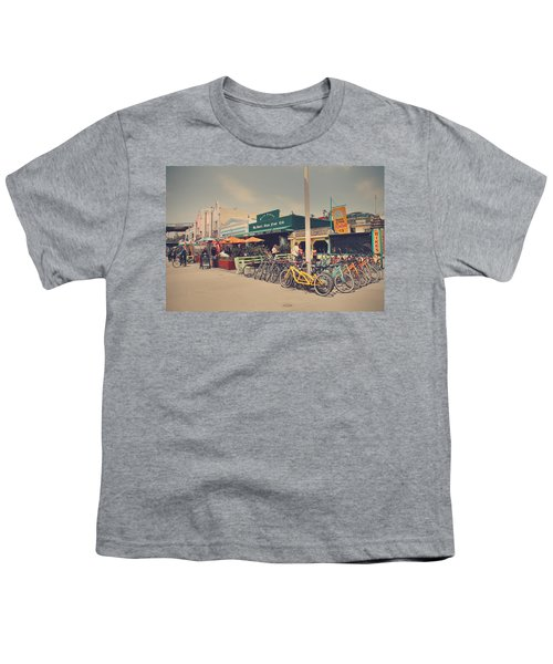 A Perfect Day For A Ride Youth T-Shirt by Laurie Search