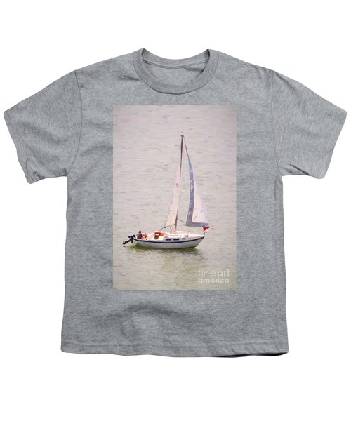 Youth T-Shirt featuring the photograph Afternoon Sail by James BO Insogna