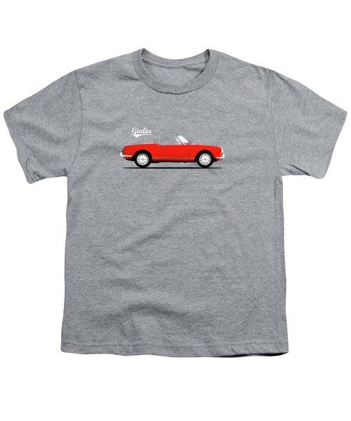 Alfa Giulia Spider 1964 Youth T-Shirt by Mark Rogan