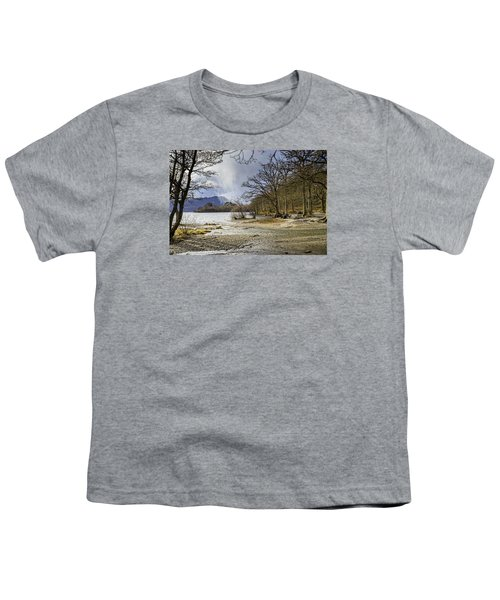 Youth T-Shirt featuring the photograph All Seasons At Loch Lomond by Jeremy Lavender Photography