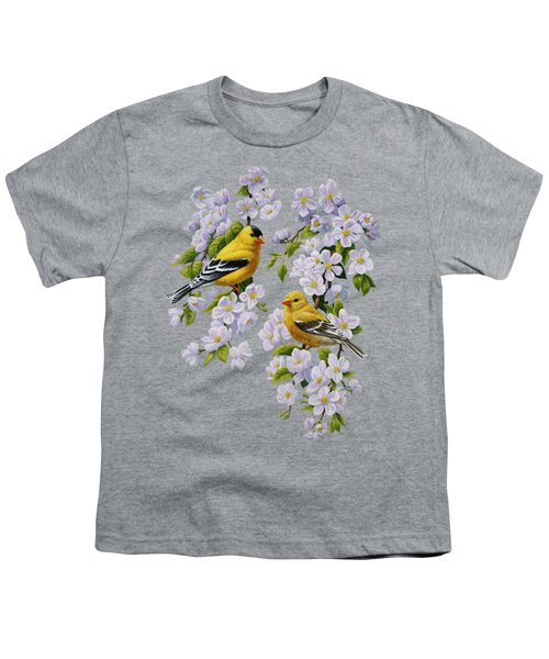 American Goldfinch Spring Youth T-Shirt