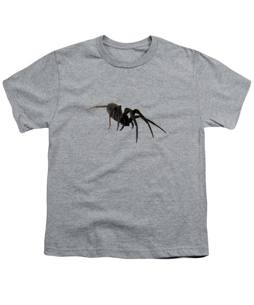 Youth T-Shirt featuring the photograph Arachne Noire by Marc Philippe Joly