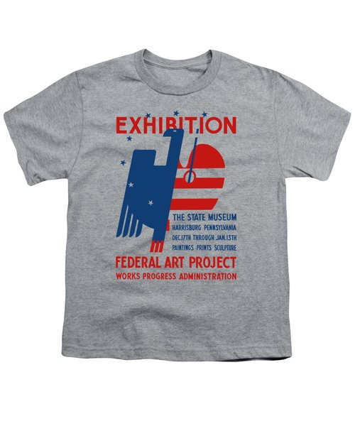 Art Exhibition The State Museum Harrisburg Pennsylvania Youth T-Shirt