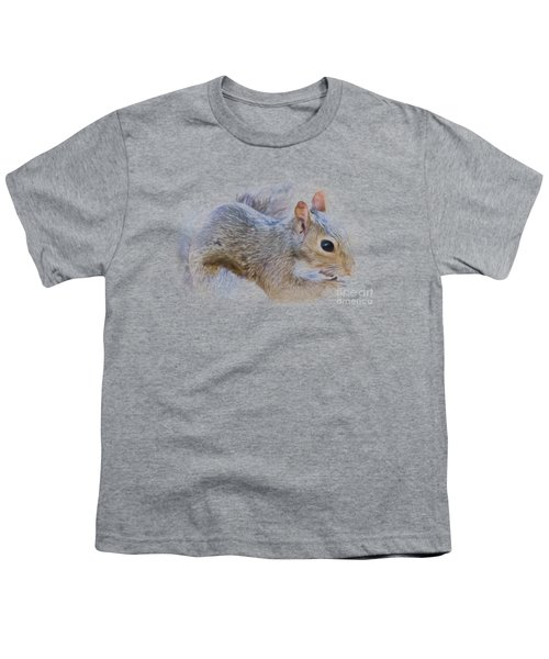 Another Peanut Please - Squirrel - Nature Youth T-Shirt by Barry Jones