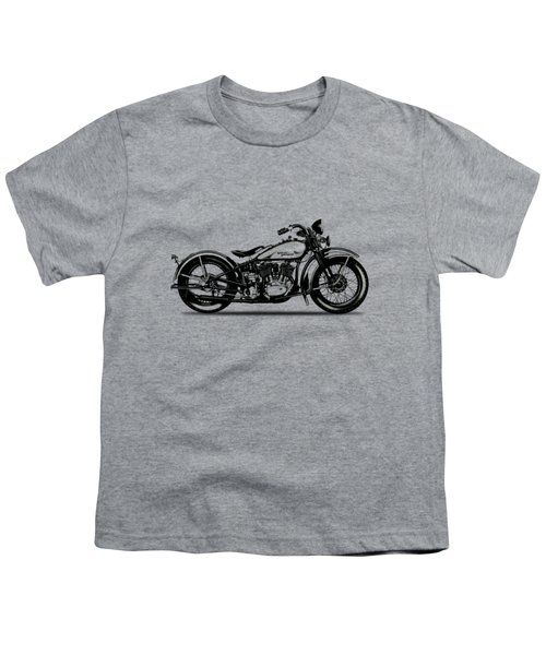 Harley Davidson 1933 Youth T-Shirt by Mark Rogan