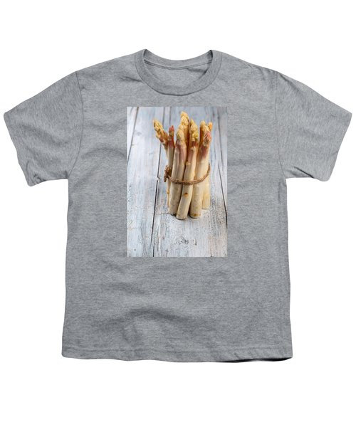 Asparagus Youth T-Shirt by Nailia Schwarz