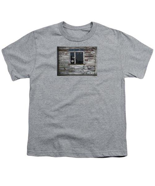 At The Window Youth T-Shirt by Nareeta Martin