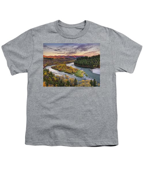 Autumn Along The Snake River Youth T-Shirt