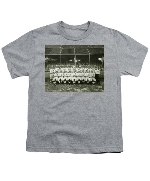 Babe Ruth Providence Grays Team Photo Youth T-Shirt