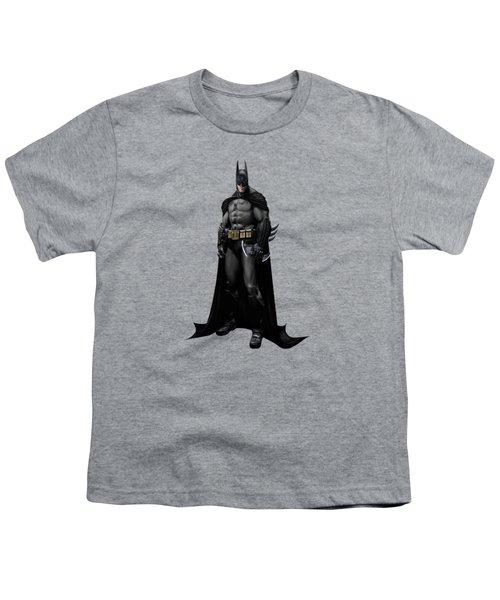 Batman Splash Super Hero Series Youth T-Shirt by Movie Poster Prints