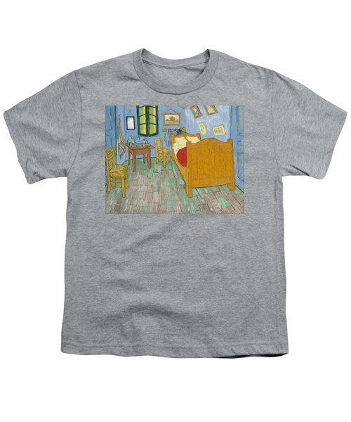 Youth T-Shirt featuring the painting Bedroom At Arles by Van Gogh