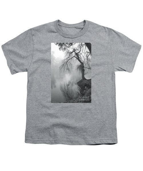 Youth T-Shirt featuring the photograph Bent With Gentleness And Time by Linda Lees
