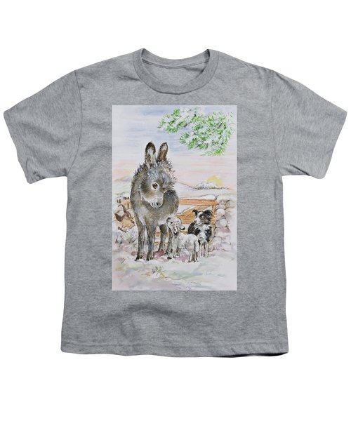 Best Friends Youth T-Shirt by Diane Matthes