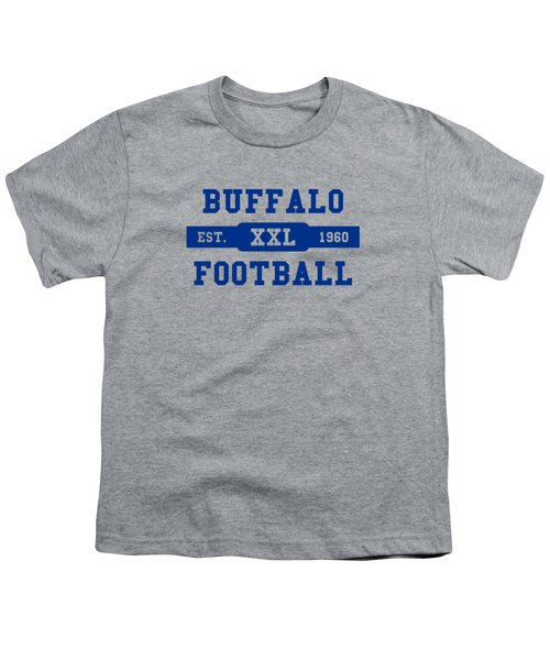 Bills Retro Shirt Youth T-Shirt by Joe Hamilton