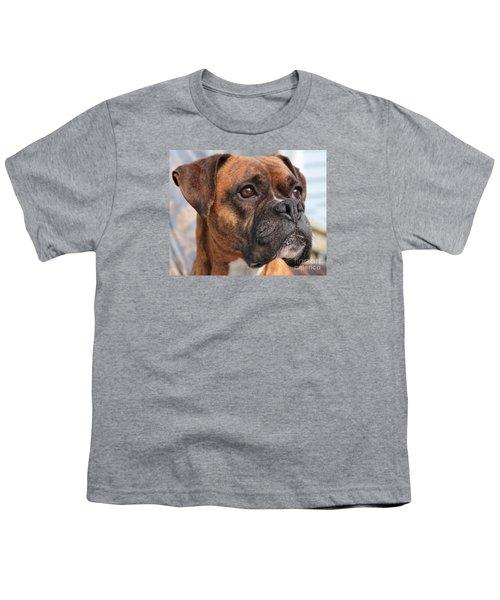 Boxer Portrait Youth T-Shirt