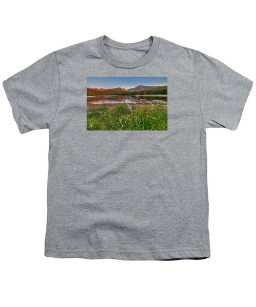 Youth T-Shirt featuring the photograph Brainard Lake by Gary Lengyel