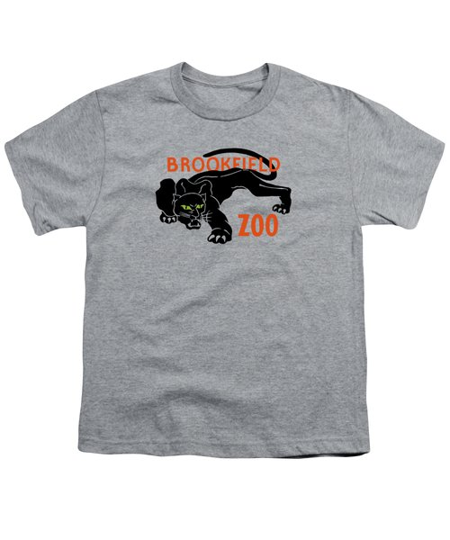 Brookfield Zoo Wpa Youth T-Shirt by War Is Hell Store