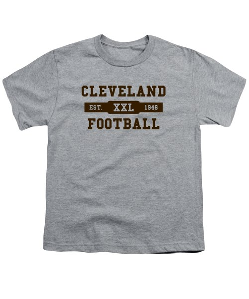 Browns Retro Shirt Youth T-Shirt by Joe Hamilton