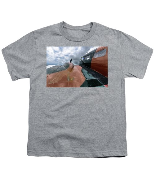 Bucket Of Bolts Youth T-Shirt by Randy Scherkenbach