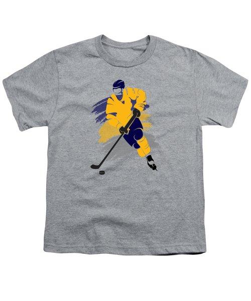 Buffalo Sabres Player Shirt Youth T-Shirt by Joe Hamilton