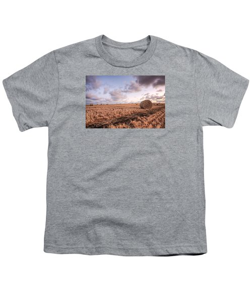 Bundy Hay Bales #2 Youth T-Shirt