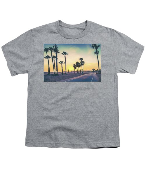 Cali Sunset Youth T-Shirt by Az Jackson
