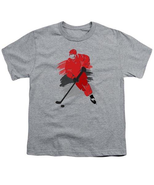 Carolina Hurricanes Player Shirt Youth T-Shirt by Joe Hamilton