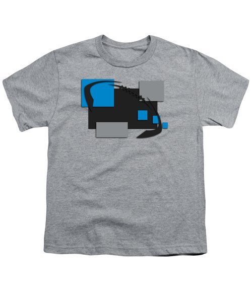 Carolina Panthers Abstract Shirt Youth T-Shirt by Joe Hamilton