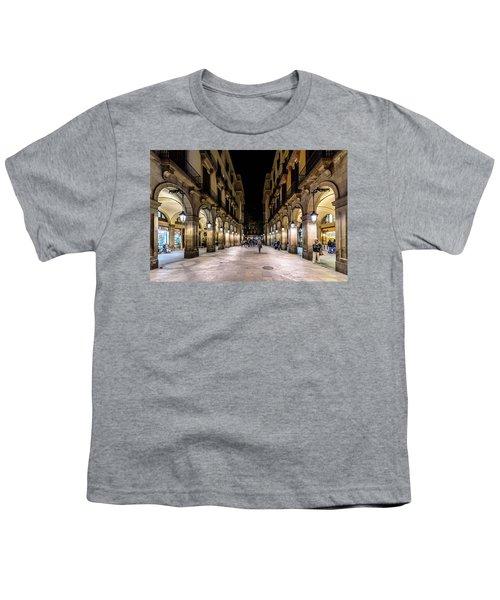 Carrer De Colom Youth T-Shirt by Randy Scherkenbach