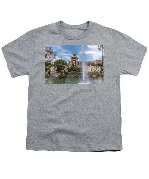 Cascada Monumental Youth T-Shirt by Randy Scherkenbach