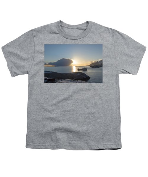 Cast A Giant Shadow... Reine Lofoten Youth T-Shirt