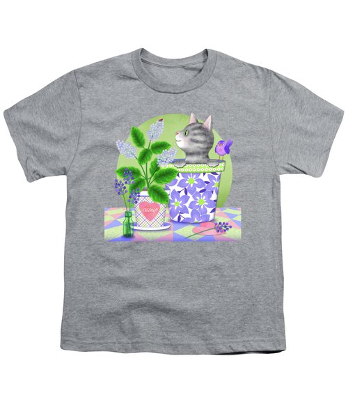 Cat Love Youth T-Shirt