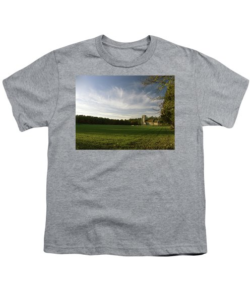 Church On The Edge Of A Forest Youth T-Shirt